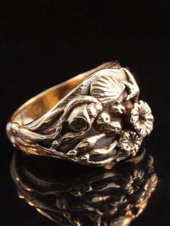 Tidepool Ring 14K Gold