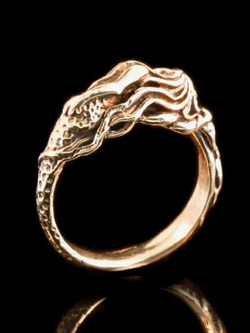 Mermaid's Dream Ring in 14K Gold