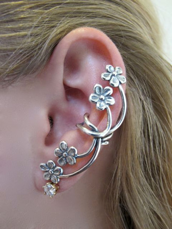 Forget Me Not Ear Cuff