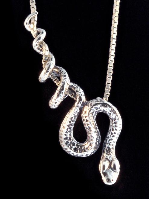 Vine snake pendant jewelry python snake pendant silver aloadofball Gallery