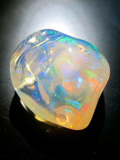 Ice Mexican Fire Opal Jewelry