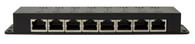 8 Port 18V Passive PoE Injector for OM Series access points. Includes power supply.