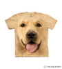 Big Face Golden Kids T-Shirt