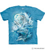 The Mountain Adult Unisex T-Shirt - Bergsma Dolphins