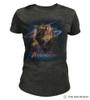 Retro Unicorn Women's Tri-Blend T-Shirt