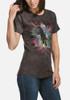Eagle Dimension Women's Tri-Blend T-Shirt (side)