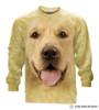 Big Face Golden Long Sleeve T-Shirt