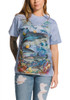 Reef Sharks T-Shirt Modeled