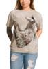 White Rhino T-Shirt Modeled