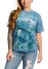 Manatees Collage T-Shirt Modeled