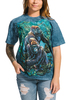 Gorilla Jungle T-Shirt Modeled