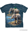 Asian Elephant Collage T-Shirt