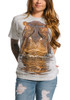 Hippo T-Shirt Modeled