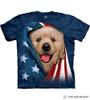 Patriotic Golden Pup T-Shirt