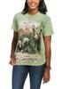 Black Bear Family T-Shirt Modeled