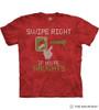 The Mountain Adult Unisex T-Shirt - Swipe Right Naughty