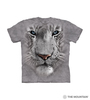 White Tiger Face Kids T-Shirt