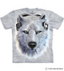 White Wolf DJ T-Shirt