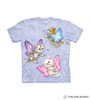 Butterfly Kitten Fairies Kids T-Shirt