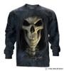 Big Face Death Long Sleeve T-Shirt