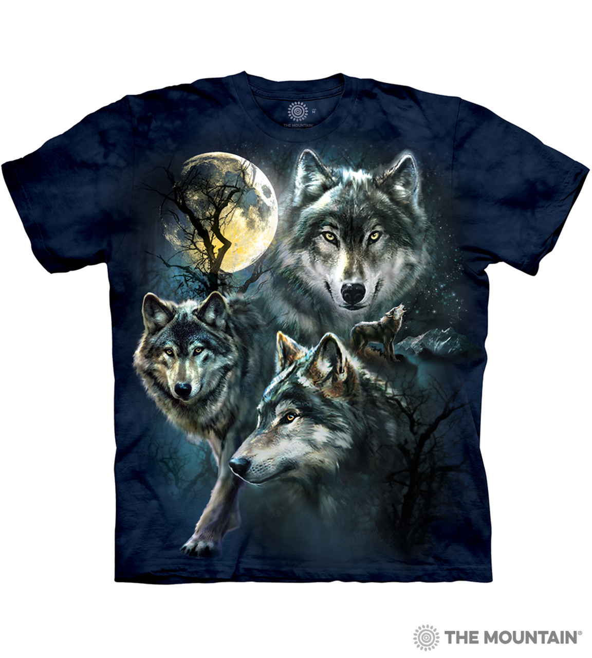 wolves moon mountain collage wolf shirts taz graduation unisex adult yin firbolg yang youth wish themountain saavedra omnilife chart choose