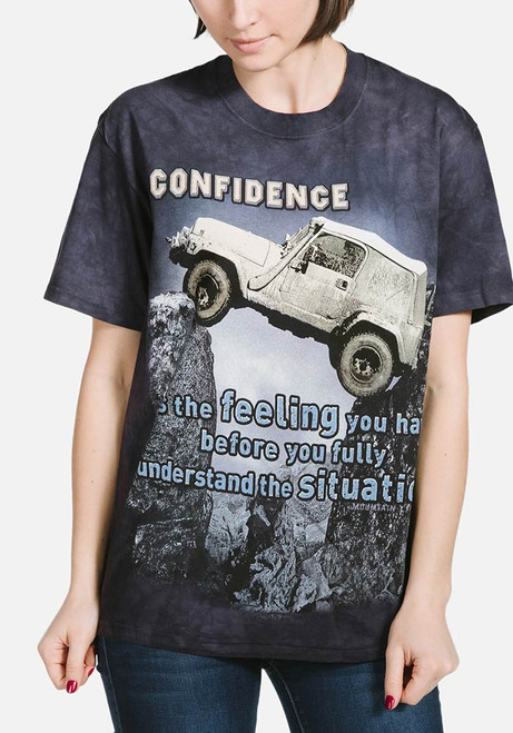 Jeep Outdoor T-Shirt Modeled