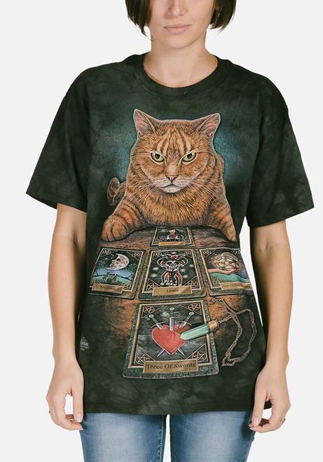 The Reader T-Shirt Modeled