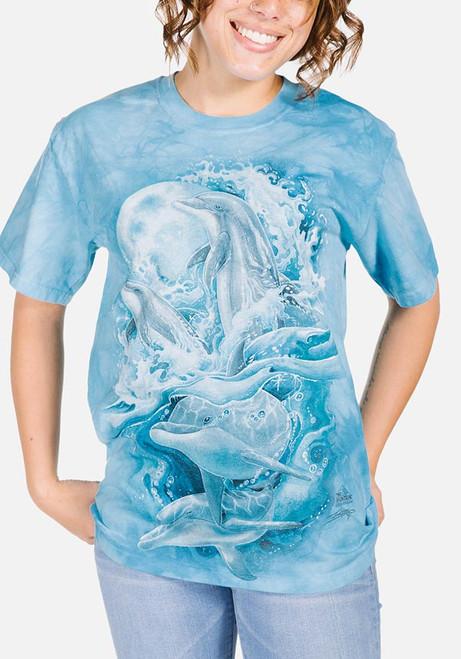 Bergsma Dolphins T-Shirt Modeled