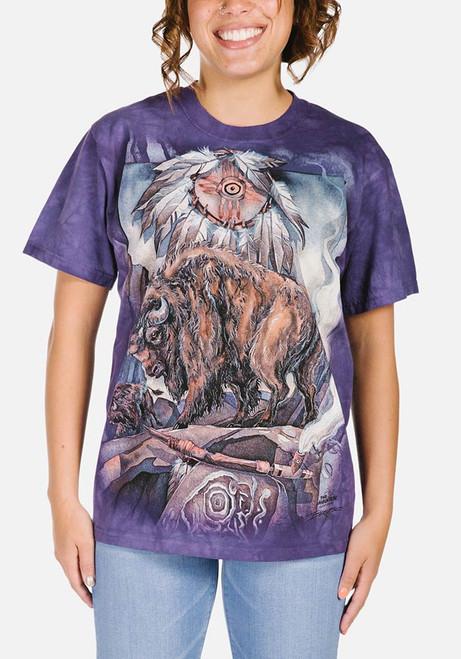 Against All Odds T-Shirt Modeled