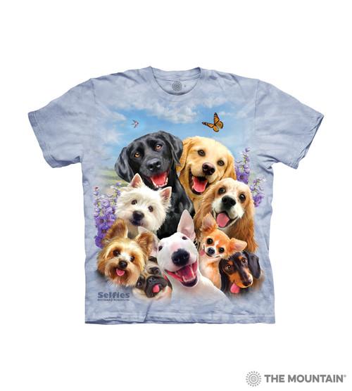 Dogs Selfie Kids T-Shirt