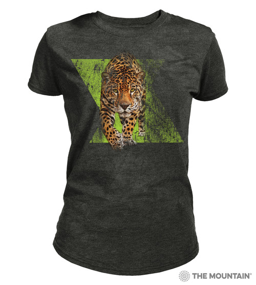 Dynamic Jaguar Women's Tri-Blend T-Shirt