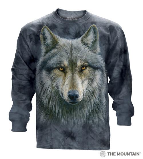 Warrior Wolf Long Sleeve T-Shirt