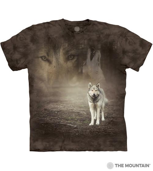 Grey Wolf Portrait T-Shirt