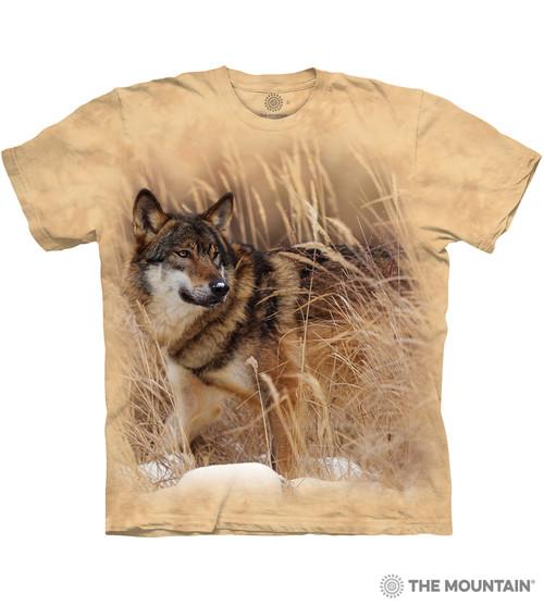 Winter Wolf Portrait T-Shirt