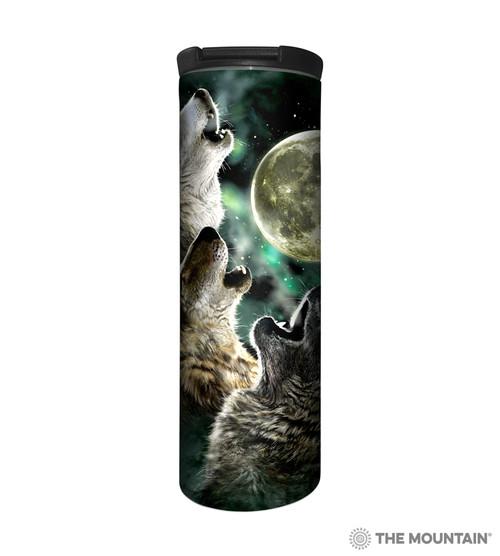 Three Wolf Moon Barista Travel Mug