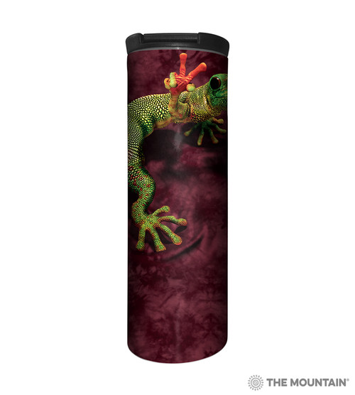 Peace Out Gecko Barista Travel Mug