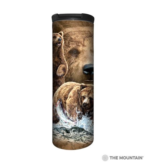 Find 10 Brown Bears Barista Travel Mug