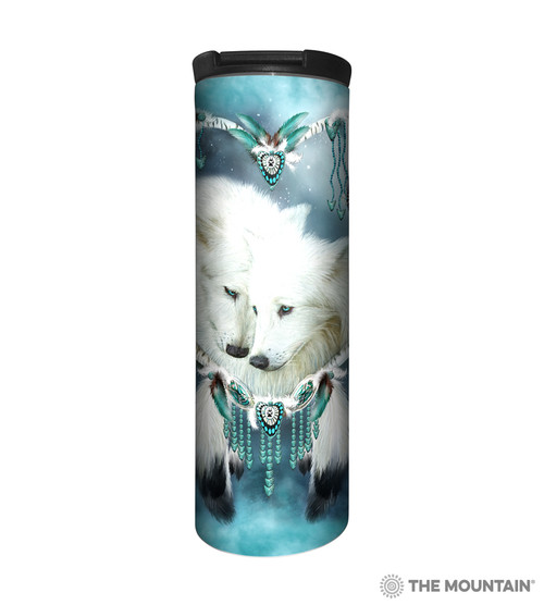 Wolf Heart Barista Travel Mug