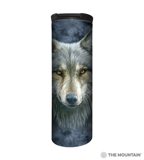 Warrior Wolf Barista Travel Mug