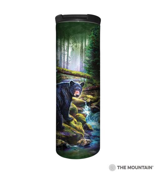 Black Bear Forest Barista Travel Mug