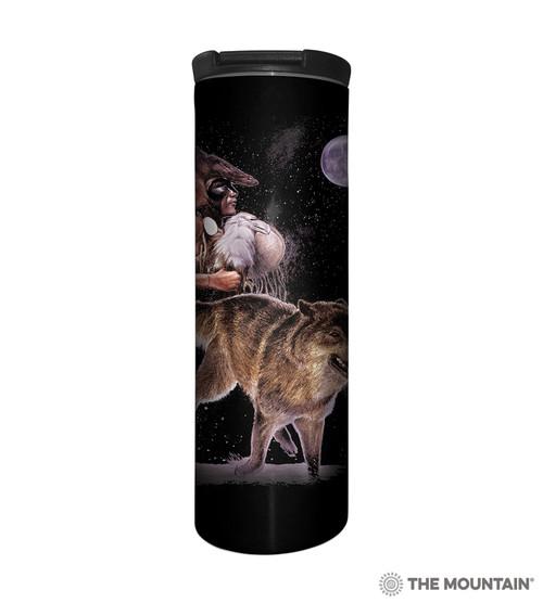 Arapaho Wolf Moon Barista Travel Mug