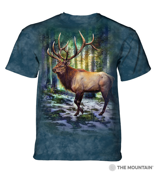 Sunlit Elk Adult T-Shirt