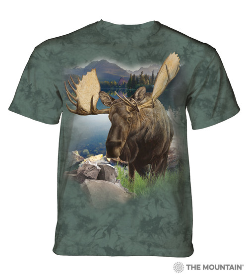 Monarch of the Forest Adult T-Shirt