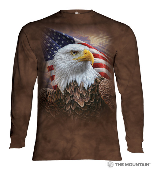 Independence Eagle Adult Long Sleeve T-Shirt