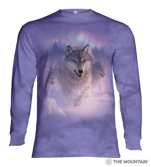 Northern Lights Adult Long Sleeve T-Shirt