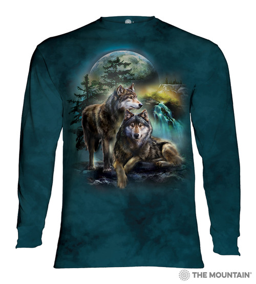 Wolf Lookout Adult Long Sleeve T-Shirt