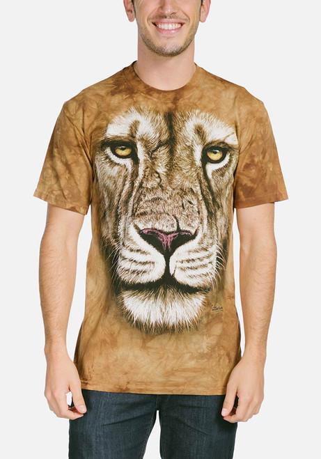 Lion Warrior T-Shirt Modeled