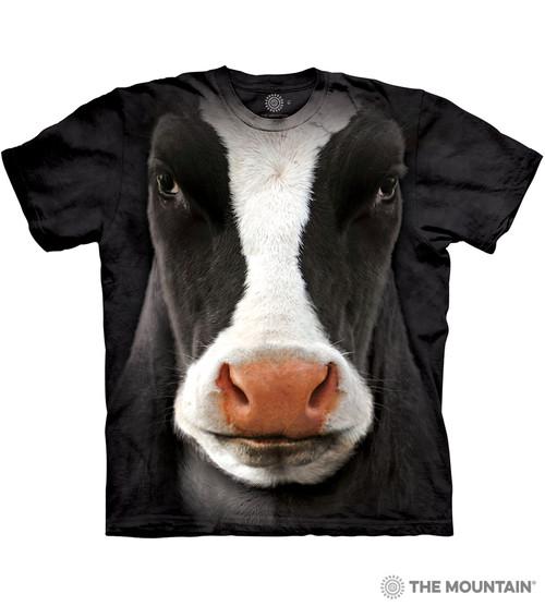 Black Cow Face T-Shirt