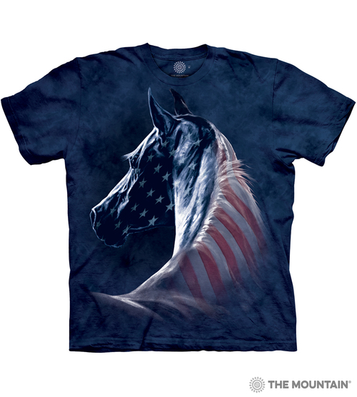 Patriotic Horse T-Shirt