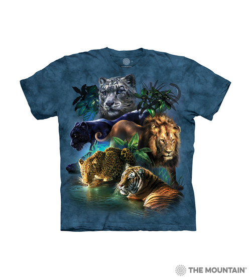 Big Jungle Cats Kids T-Shirt